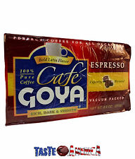 Goya Cafe Espresso Rich Dark & Smooth Ground Coffee 250g Refill Brick Pack