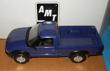 AMT 1994 CHEVROLET S-10 4x4 Promo Pickup-Purple Metallic-Model Car Swap Meet1/25
