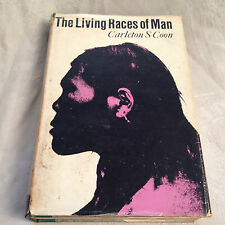 Carleton S Coon - The Living Races of Man - 1st/1st UK 1966 in Original Jacket
