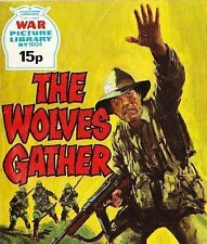 A Fleetway War Picture Library Pocket Comic Book Magazine #1604 WOLVES GATHER