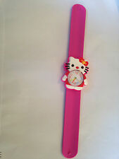 Hello Kitty Kids Quartz Pink Wrist Watch Easy Strap Girls Gift Idea UK SELLER