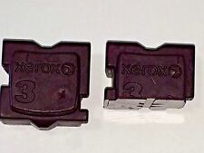 USED MAGENTA XEROX COLORQUBE 8570 / 8870 GENUINE INK STICK ABOUT 75% LIFE REM