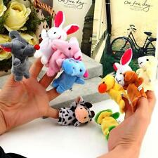 Kuhu Creations Finger Puppets 10 pcs Animal Baby Education Play Toy
