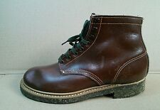 vintage gro cord raw cord men size 10 boots