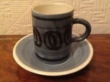 Cinque Ports Pottery The Monastery Pottery Rye Coffee Cup And Saucer
