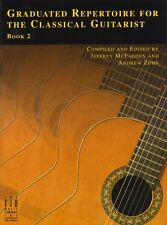 Graduated Repertoire For Classical Guitarist Learn to Play Guitar Music Book 2