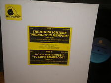 """The Moonlighters""""Midnight In Memphis""""Jackie DeShannon""""To Love Somebody""""12""""Single"""