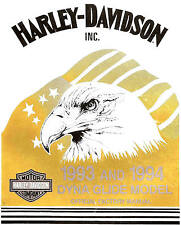 1993 & 1994 HARLEY-DAVIDSON DYNA SERVICE MANUAL -FXDL LOW RIDER-FXDWG WIDE GLIDE