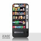 Vending Machine Dispenser Phone Case Cover for iPhone 4/4s 5 5s 5c & iPod Touch