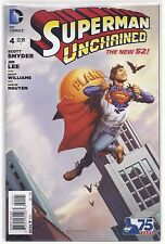 Superman Unchained #4 New 52 Morales Variant DC Comic Book