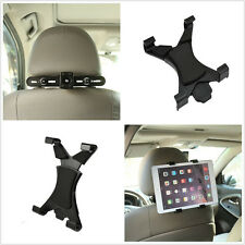 """360° Ratating Car Seat Headrest Mount Holder For 8"""" ~ 13"""" Tablet iPad Air 5 4 3"""