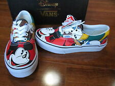 NEW VANS Era Disney Mickey & Friends Shoes Youth Kids Size 2.5
