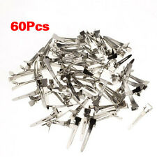 60 pcs Single Prong Clip Alligator Pinch For Hair Bows Craft  LW