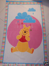 Winnie The Pooh - Rainbow Polar Fleece Blanket - Large Size!!  Beautiful Gift