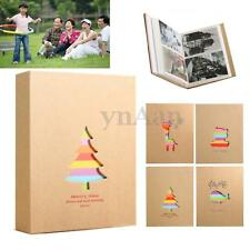 "200 Slots 3R 5"" Photo Picture Storage Family Wedding Album Baby Memo Book Case"