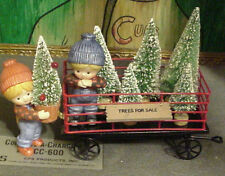 Enesco Country Cousins Katie and Scooter,Trees For  Sale