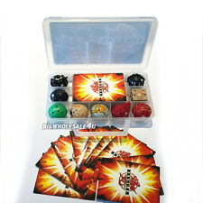 XMAS Gift Bakugan Battle Brawlers Case With 9 Different Boy Bakugans & Cards New