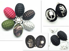 Hand Grenade Coin Purse & Key Holder Bag Earphone Case Handy Pouch Wallet