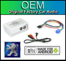 Peugeot 206 AUX in lead Car stereo Android Smartphone player connection adapter