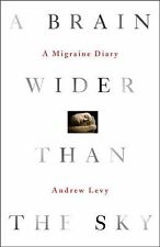 A Brain Wider Than the Sky: A Migraine Diary Levy, Andrew Hardcover