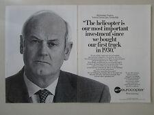 12/1991 PUB EUROCOPTER HELICOPTER GIORDANO VERONESI VERONESA ORIGINAL AD