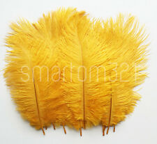 """8""""-10"""" Long Ostrich Feathers Wedding Decoration Costume Party Craft Mask Hat"""