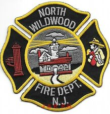 """*NEW*  North Wildwood  Fire Dept., NJ (4"""" x 4"""" size) fire patch"""