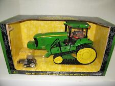 1/16 JOHN DEERE 8520T COLLECTOR EDITION w/1/64 CHROME NIB