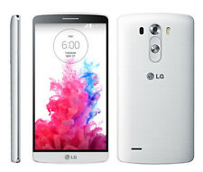 "White! (Europe) 5.5"" LG G3 D855 16GB 13.0MP Unlocked 4G LTE Android OS Cellphone"