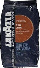 Lavazza Coffee Espresso Super Crema, Whole Beans, 1000g BB 30/06/2018