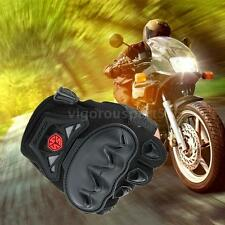 Scoyco Half Finger Motorcycle Cycling Racing Protective Gloves Black L New Q7YC