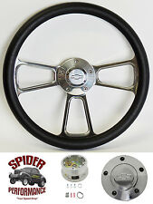 "1982-1994 S-10 truck S-10 Blazer steering wheel BOWTIE 13 3/4"" POLISHED BILLET"