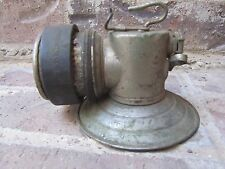 1930s Justrite Miners Carbide / Acetylene Gas Lamp - CHICAGO ILLINOIS IL