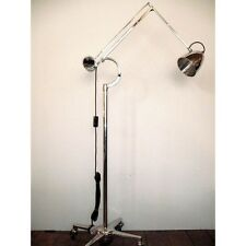 Vintage anglepoise HADRILL  HORSTMANN polished TROLLEY LAMP FLOOR counterweight