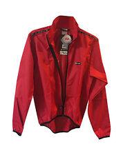 new S Louis Garneau Onion jacket 2 wind proof made USA lightweight windstopper