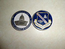 CHALLENGE COIN US AIR FORCE MILITARY DISTRICT OF WASHINGTON GATEWAY PENTAGON