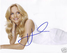 HEATHER GRAHAM AUTOGRAPH SIGNED PP PHOTO POSTER 1
