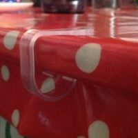 10 Plastic Table Cloth/Cover Clips.All occasions..Free Royal Mail Postage.