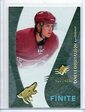 2010/11 SPX Finite Rookie #F15 OLIVER EKMAN-LARSSON Coyotes RC /499 Rookie Card