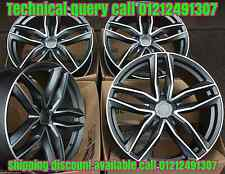 "18"" 6 C GMF ALLOY WHEELS FITS VW TIGUAN 2007 ONWARDS"