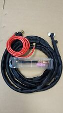 WP17 4 MTR TIG WELDING TORCH C/W GAS VALVE AND 2M HOSE for scratch start tig use