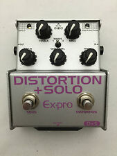 Ex-pro D+S DISTORTION+SOLO Japanese Effects Pedal Stompbox
