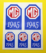 MG 1945-1955 TC TD TF MIDGET Year Date stickers decals INSIDE GLASS