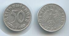 G10383 - Drittes Reich 50 Reichspfennig 1940 B Wien KM#96 (J.372) Third Reich