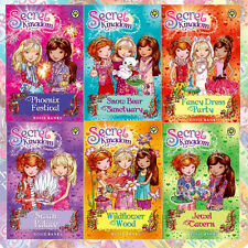 Rosie Banks Collection Secret Kingdom Series 3, 6 Books Pack Set Wildflower Wood