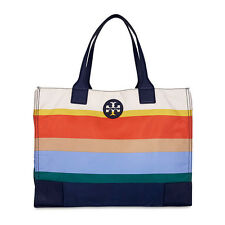 Tory Burch Ella Printed Packable Tote - Journey Stripe