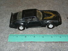 Strombecker Pontiac Firebird Black Trans Am 1979 1980 1981 Die Cast 1:30