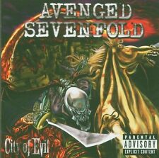 "AVENGED SEVENFOLD ""CITY OF EVIL"" CD NEU"