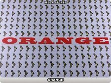 """ORANGE Stickers Decals Bicycles Bikes BMX MTB Rims Cycles """"DIFFERENT COLORS"""" 56A"""