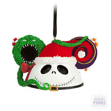 Disney Parks Sandy Claws Ear Hat Ornament Nightmare Before Christmas Santa Claus